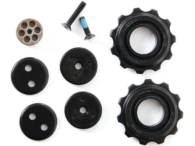 SRAM X4/SX4 Schaltrollen-Set 7-fach schwarz
